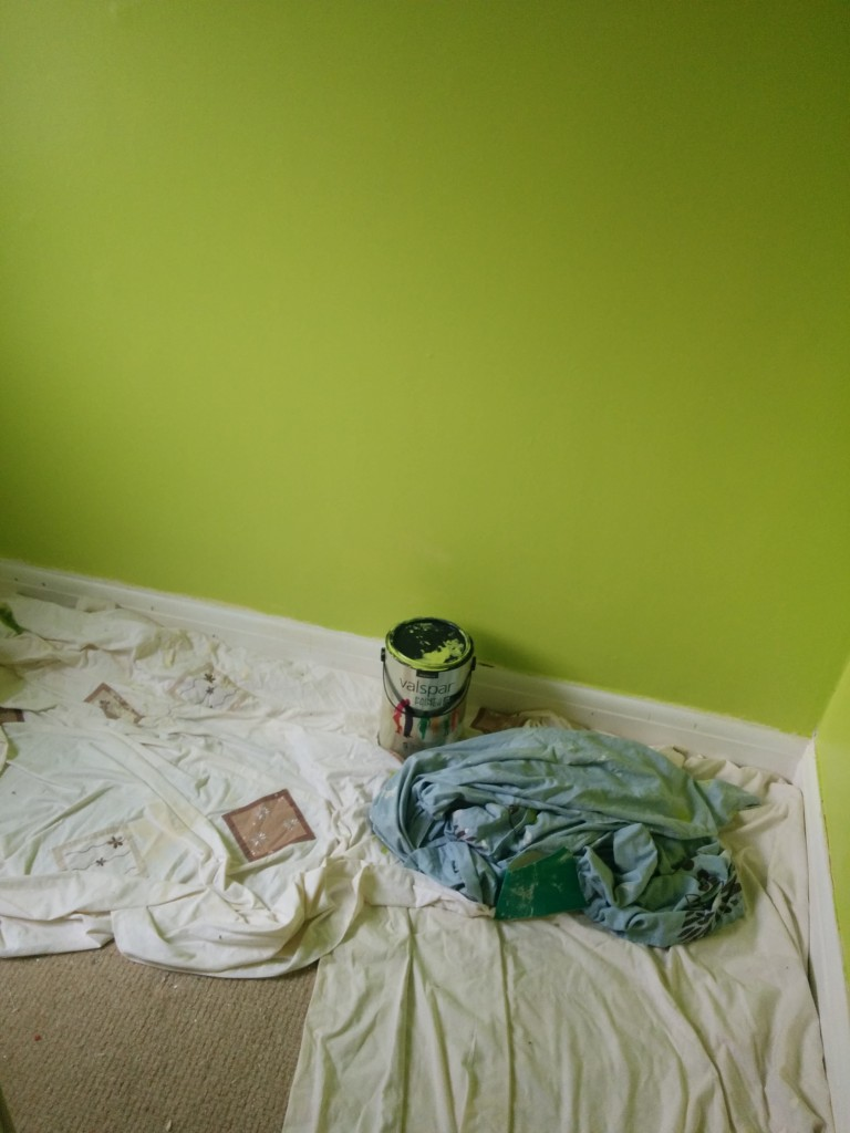 Renovating your home can take a while - we've been working room by room for over a year!